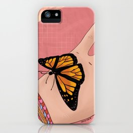 Sweet Butterfly iPhone Case