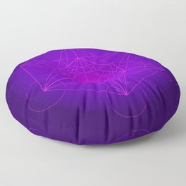 Metatron | Cube | Secret Geometry | Platonic | Matrix | Protects children Floor Pillow
