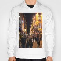 bar Hoodies featuring Temple Bar by Flattering Images