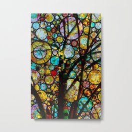 Fairy Tale Tree Metal Print