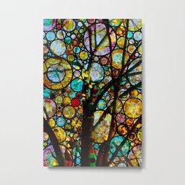 Fairy Tale Tree Metal Print