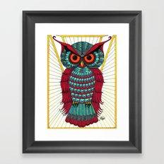 Faberge Owl Framed Art Print