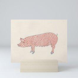 Pig - Pork Mini Art Print