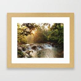 Sunset on the Springs Framed Art Print