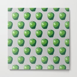 Green Apple_A Metal Print