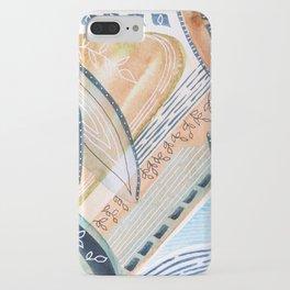Watercolor improvisation 11 iPhone Case