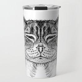 cat 8 Travel Mug