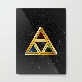 The Tri[llusion] Force Metal Print