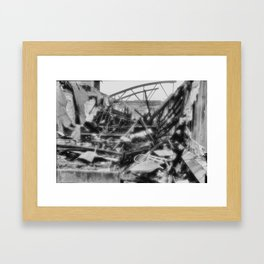 Ghostly Framed Art Print