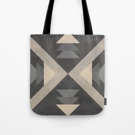 Geometric trinagles abstract pattern Tote Bag