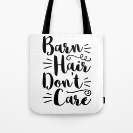 Barn Hair design Tote Bag