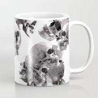 skulls Mugs featuring Skulls by Rik Reimert