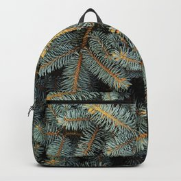 Evergreen Tree Pattern (Color) Backpack