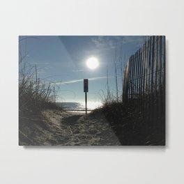 Sun shadows Metal Print