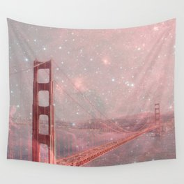 Stardust Covering San Francisco Wall Tapestry