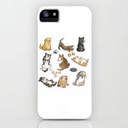 Puppies! iPhone Case