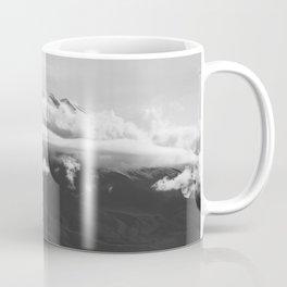 Volcano Misti in Arequipa Peru Covered with Clouds Coffee Mug
