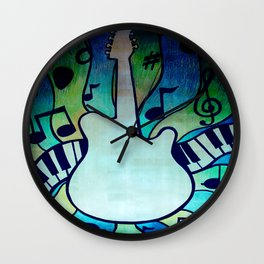 for the love of music Wall Clock