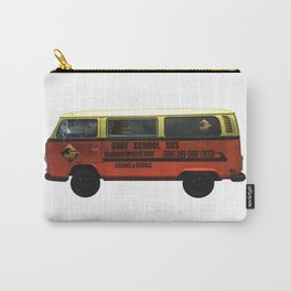 Surf School Bus Carry-All Pouch