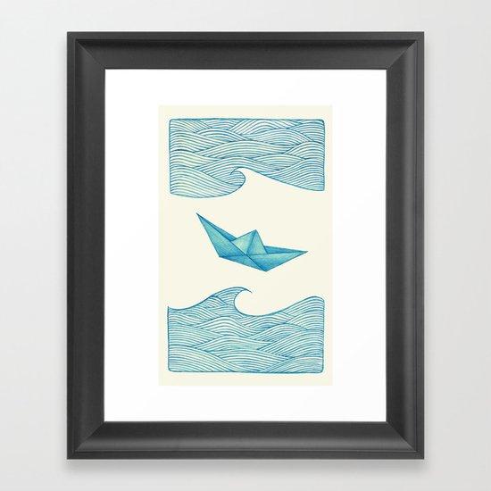 High Seas Framed Art Print