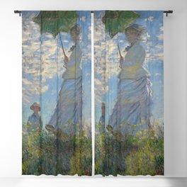 Woman with a Parasol  - Claude Monet Blackout Curtain
