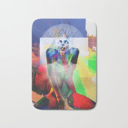 Abstract Art 104 Bath Mat