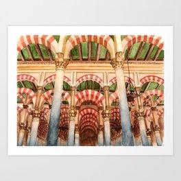 Mezquita de Cordoba - Spain Art Print