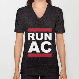 Run Atlantic City Unisex V-Neck