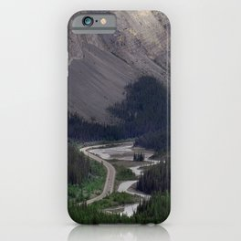 Awesome Kicking Horse Pass, Canadian Rockies iPhone Case