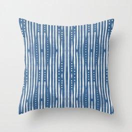 Shibori Tribal #society6 #shibori Throw Pillow