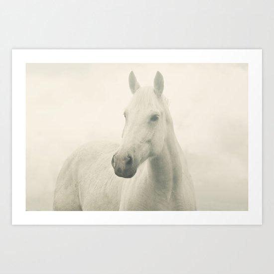 Dreamy Horse Photo Art Print
