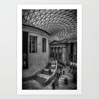 british Art Prints featuring British Museum by liberthine01