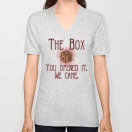 Hellraiser The Box You Opened It Unisex V-Neck