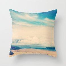 Padstow Estuary  Throw Pillow