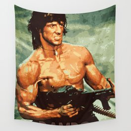 Rambo Wall Tapestry