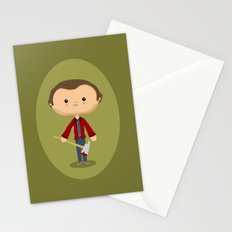 All work and no play Stationery Cards