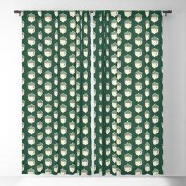 Printed Acorns Blackout Curtain
