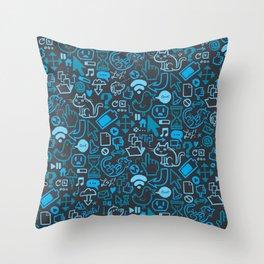 Interwebz Throw Pillow