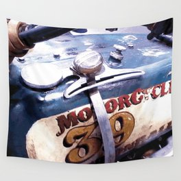 MOTORCYCLE 39 Wall Tapestry