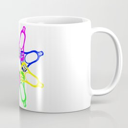 Lacrosse Neon Heads Coffee Mug