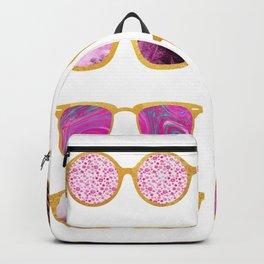 Vintage sunglasses Backpack