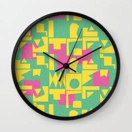 Color Combination #3 Wall Clock