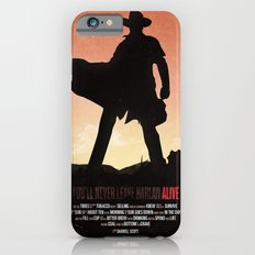 You'll never leave Harlan alive iPhone 6s Slim Case