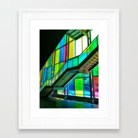 montreal Framed Art Prints featuring Montreal by Erin Halvey