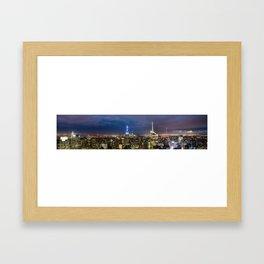 New York City, New York Framed Art Print