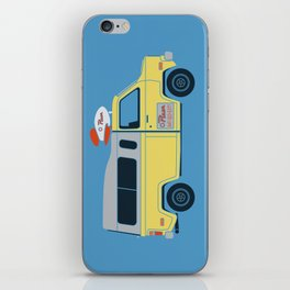Galactic Pizza Van iPhone Skin