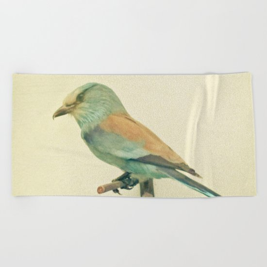 Bird Study #2 Beach Towel