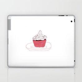 Red Velvet Vegan Cupcake  Laptop & iPad Skin