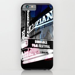 Sundance iPhone Case