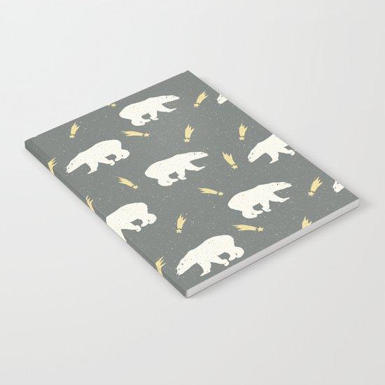 Merry Christmas- Animal Polar bear - pattern Notebook